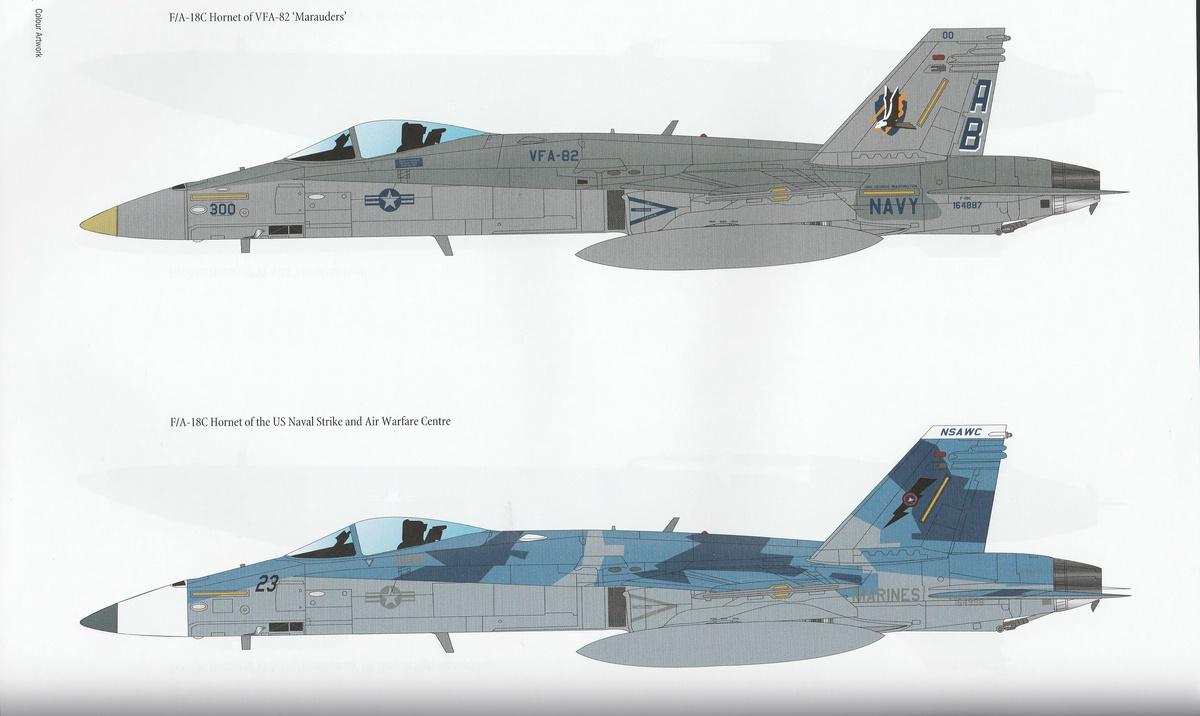 Modellers-DataFile-MDF-34-F-A-18-Hornet-9 Modellers DataFile #34: F/A-18 Hornet