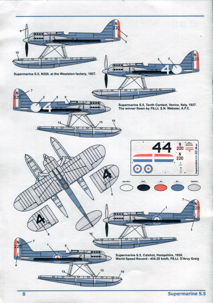 Review_AMP_S-5_36 Supermarine S.5 - AMP Schneider Trophy Series 1/48
