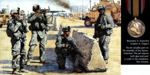 "Figurenset ""US Checkpoint in Iraq"" – Master Box 1/35"