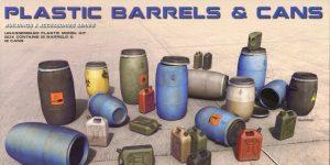 Plastic Barrels & Cans – MiniArt 1/35