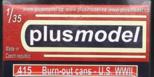 Burn-out cans U.S. WWII – Plusmodel 1/35