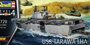 USS Tarawa LHA-1 in 1:720 von Revell #05170