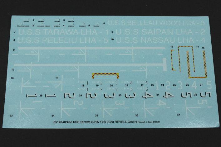 Review_Revell_Tawara_24 USS Tarawa LHA-1 in 1:720 von Revell #05170