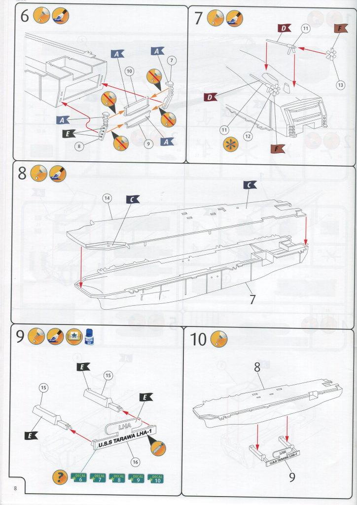 Review_Revell_Tawara_35 USS Tarawa LHA-1 in 1:720 von Revell #05170