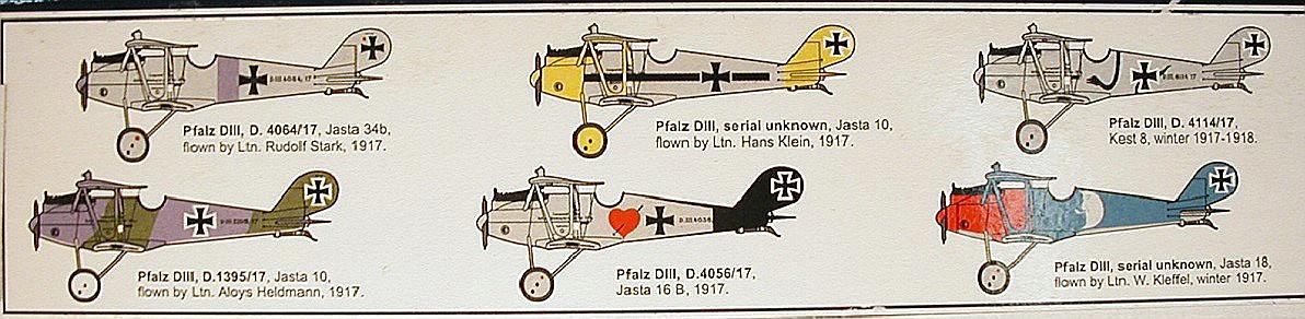 Roden-613-Pfalz-D.III-1zu32-2 Pfalz D.III in 1:32 von Roden #613