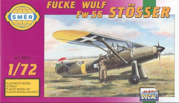 SMER-FW-56 Focke Wulf FW 56 Stösser in 1:72 von Heller #80238