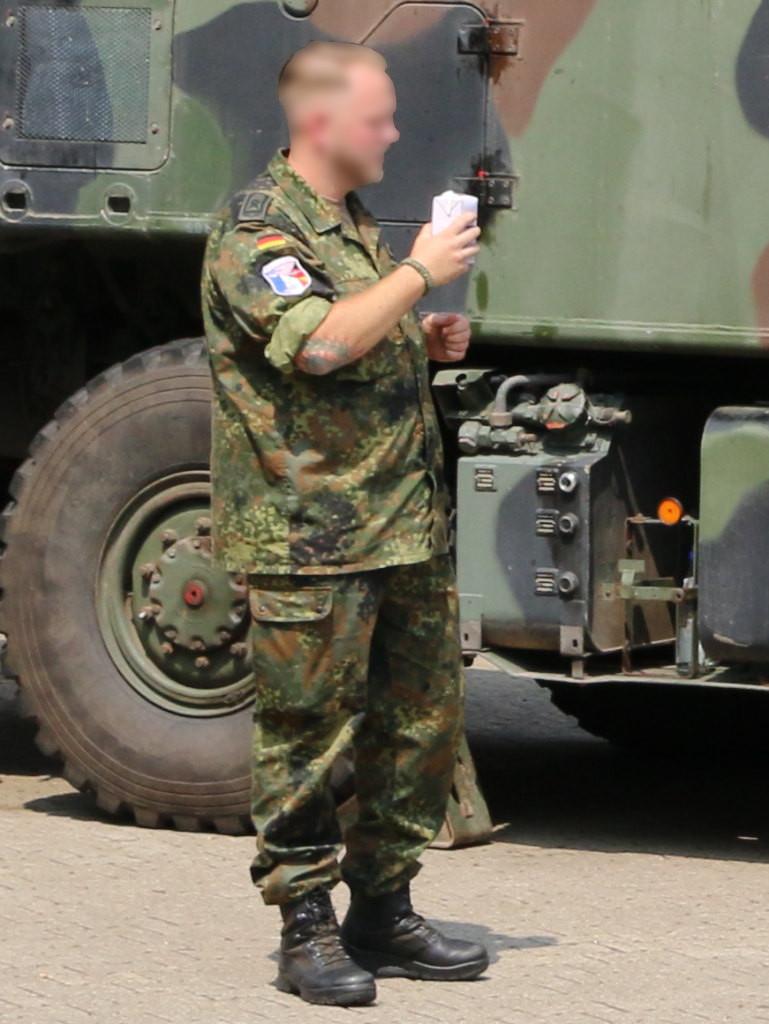 3 Bundeswehr Flecktarn Texture Decals 1:35 MAIM (#MAIM35621)