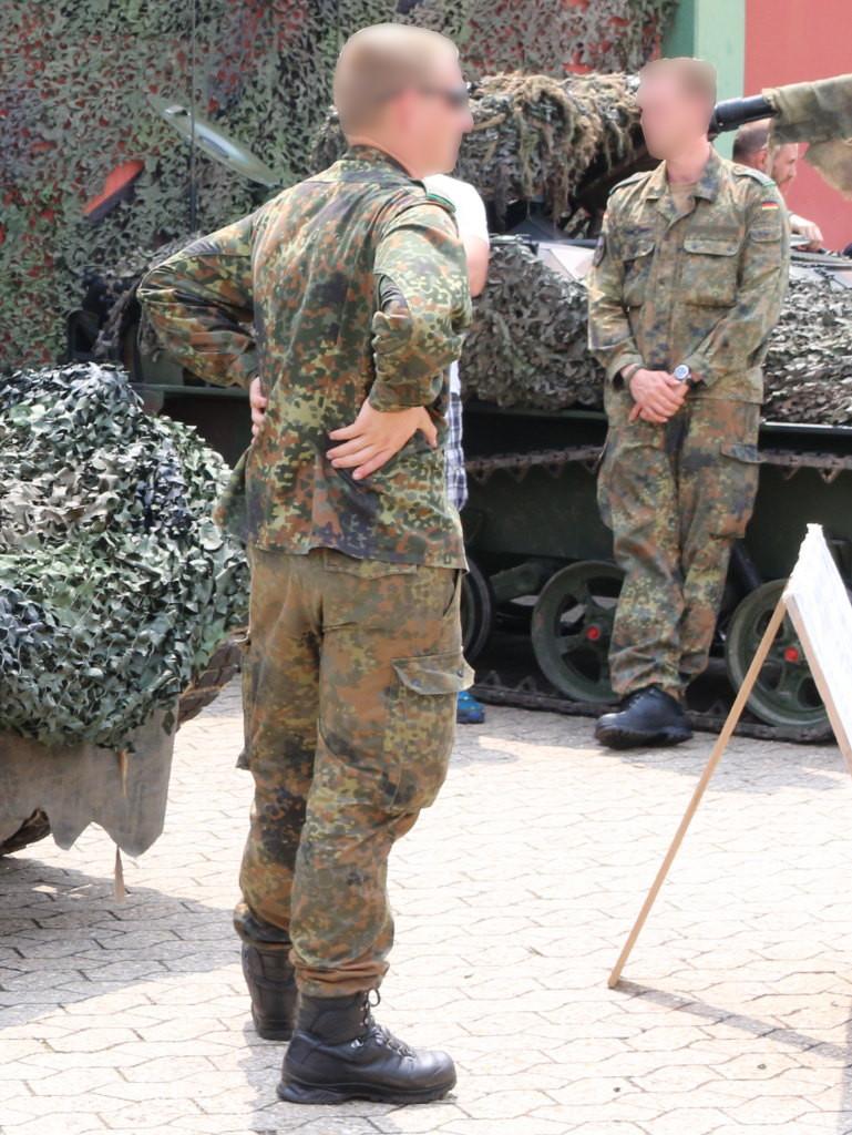 4 Bundeswehr Flecktarn Texture Decals 1:35 MAIM (#MAIM35621)