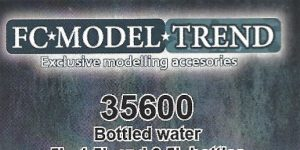 Bottled Water 1:35 FC Model Trend (#35600)