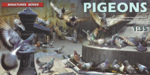 Pidgeons (Tauben) 1:35 Miniart (#38036)
