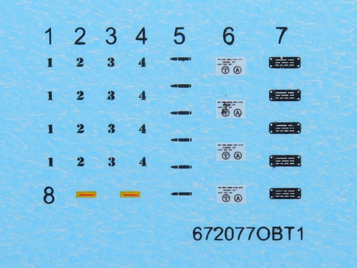 Eduard-632077-Mosquito-FB-MK-VI-Nose-Guns-6 Detailsets für Airfix Mosquito in 1:32 von Eduard # 632077 und 632078