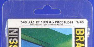 Detailsets für die Messerschmitt Bf 109G von Eduard