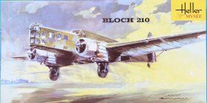 Kit-Archäologie: Bloch MB 210 in 1:72 von Heller