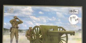 75mm POLISH ARMY FIELD GUN Wz.1897 with crew in 1:35 von IBG # 35059