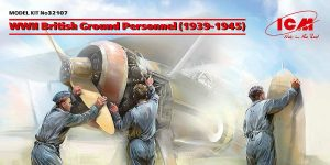 British Ground Personnel 1939-45 in 1:32 von ICM #32107