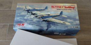 Heinkel He 111Z-1 Zwilling in 1:48 von ICM # 48260