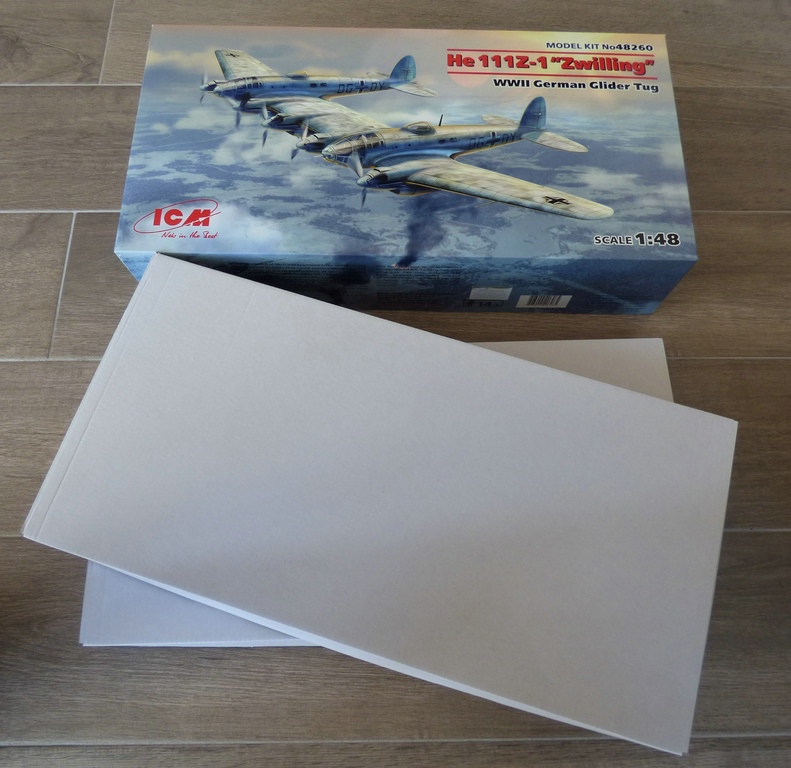ICM-48260-He-111-Z-1-Zwilling-2 Heinkel He 111Z-1 Zwilling in 1:48 von ICM # 48260