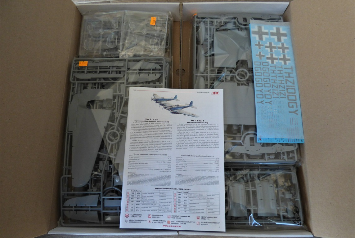 ICM-48260-He-111-Z-1-Zwilling-3 Heinkel He 111Z-1 Zwilling in 1:48 von ICM # 48260