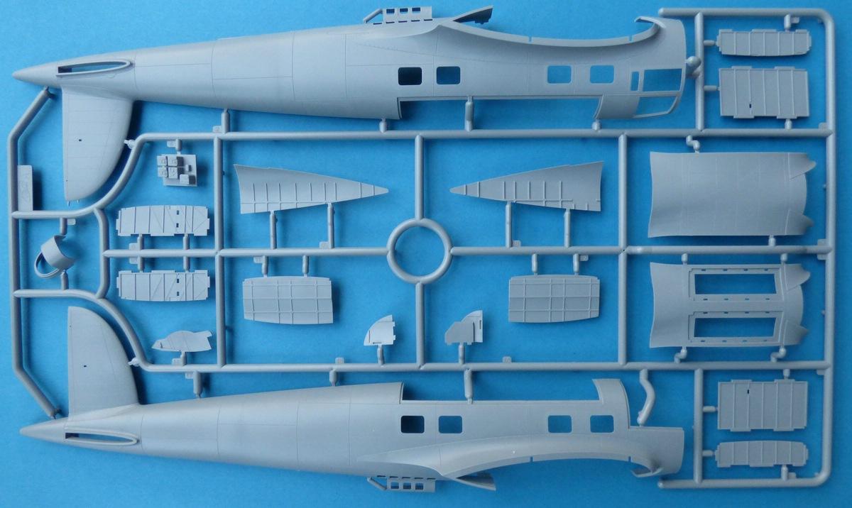 ICM-48260-He-111-Z-1-Zwilling-4 Heinkel He 111Z-1 Zwilling in 1:48 von ICM # 48260