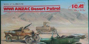 WW I ANZAC Desert Patrol in 1:35 von ICM #DS 3510