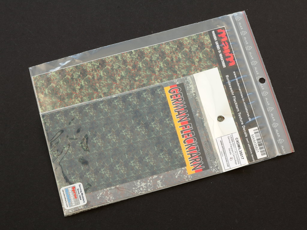 IMG_0068 Bundeswehr Flecktarn Texture Decals 1:35 MAIM (#MAIM35621)