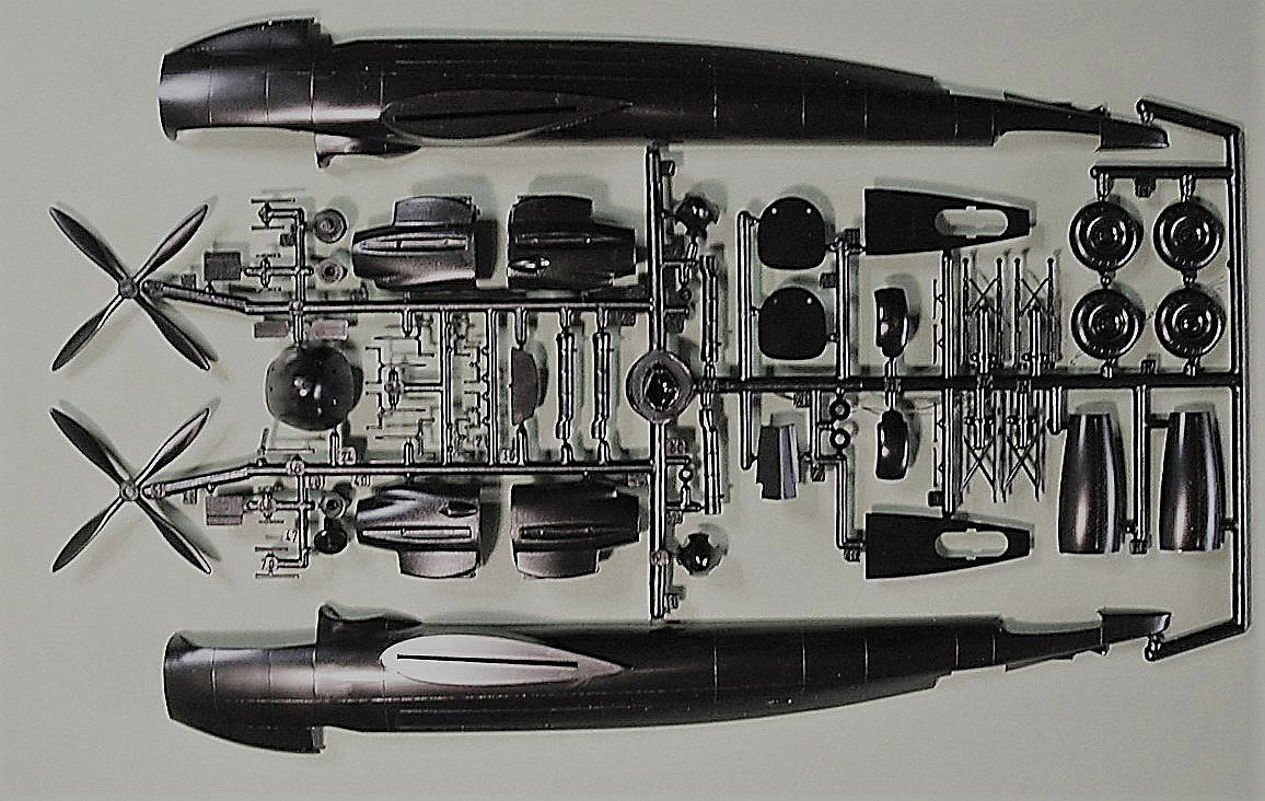 Italeri-Do-217-N-1-12 Kit-Archäologie: Dornier Do 217 N-1 in 1:72 von Italeri