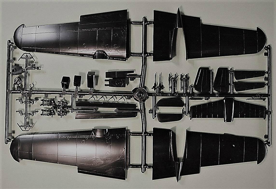 Italeri-Do-217-N-1-14 Kit-Archäologie: Dornier Do 217 N-1 in 1:72 von Italeri