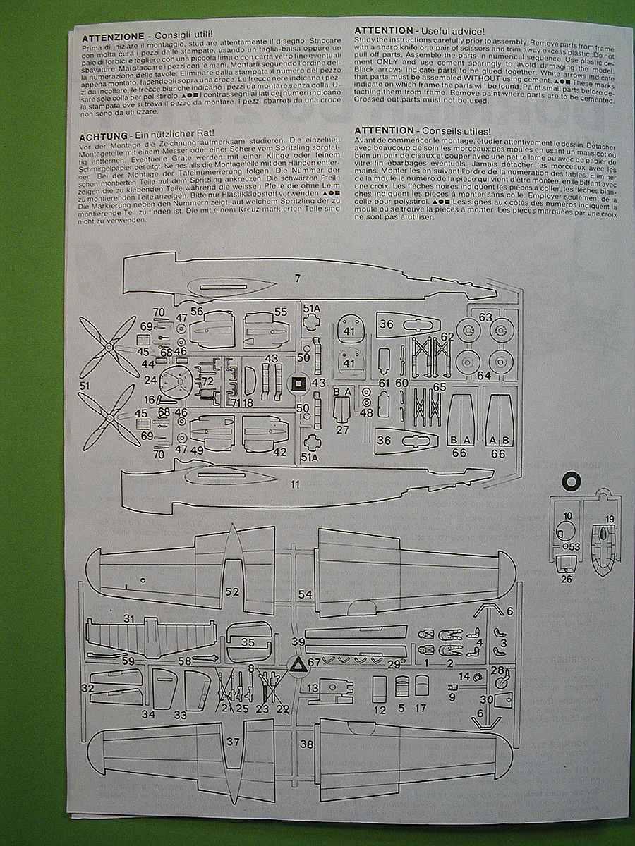 Italeri-Do-217-N-1-7 Kit-Archäologie: Dornier Do 217 N-1 in 1:72 von Italeri