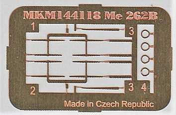 Mark-I-models-MKM144117-Me-262B-6 Messerschmitt Me 262B in 1:144 von Mark1Models #144117