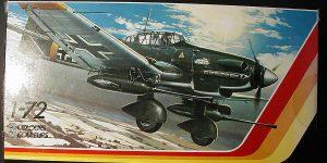 Kit-Archäologie: Ju 87 Stuka in 1:72 von Matchbox #PK 111