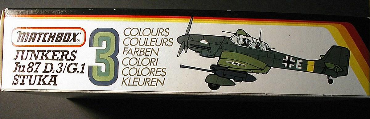 Matchbox-PK-111-Ju-87-D-und-G-Stuka-3 Kit-Archäologie: Ju 87 Stuka in 1:72 von Matchbox #PK 111
