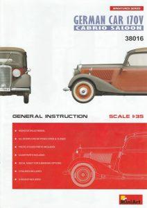 MiniArt-38016-German-Car-170V-Cabrio-50-212x300 MiniArt 38016 German Car 170V Cabrio (50)