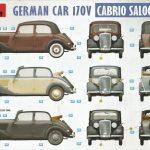 MiniArt-38016-German-Car-170V-Cabrio-62-150x150 Cabriolet Mercedes 170V in 1:35 von MiniArt #38016