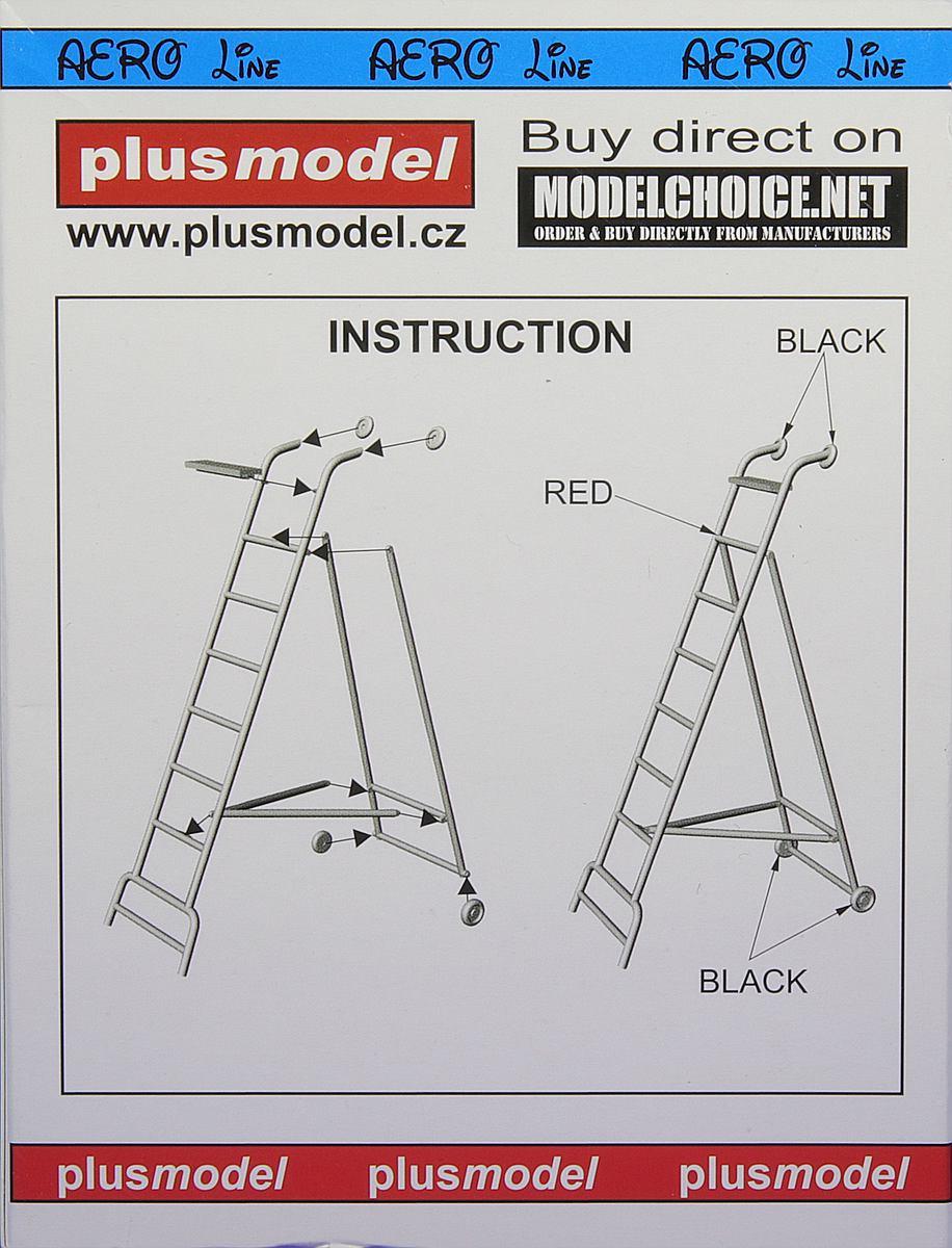 Plusmodel-AL-4037-Ladder-for-MiG-21-2 Einstiegsleiter für MiG-21 in 1:48 von PlusModel #AL-4037