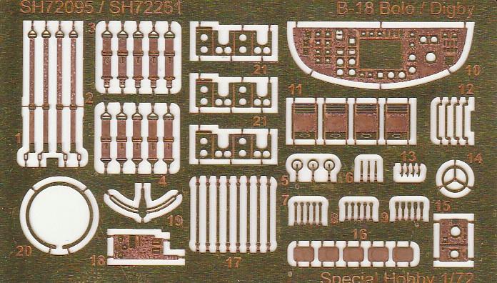 """Special-Hobby-SH-72230-Douglas-B-18-Bolo-ASW-34 Douglas B-18B Bolo """"ASW Version"""" in 1:72 von Special Hobby #SH72230"""