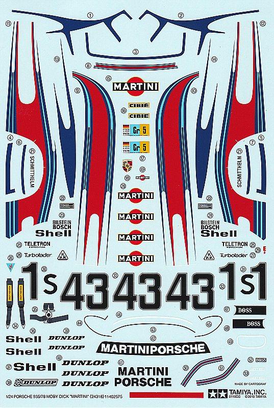 Tamiya-24318-Porsche-935-78-Moby-Dick-6 Porsche 935/78 Moby Dick in 1:24 von Tamiya # 24318
