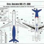 Zvezda-7033-MC-21-300-11-e1586019623211-150x150 Verkehrsflugzeug MS-21-300 in 1:144 von Zvezda #7033