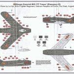 Airfix-03091-MiG-17-Bemalungsanleitung-1-150x150 MiG-17 Fresco in 1:72 von Airfix # A 03091
