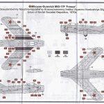 Airfix-03091-MiG-17-Bemalungsanleitung-2-150x150 MiG-17 Fresco in 1:72 von Airfix # A 03091
