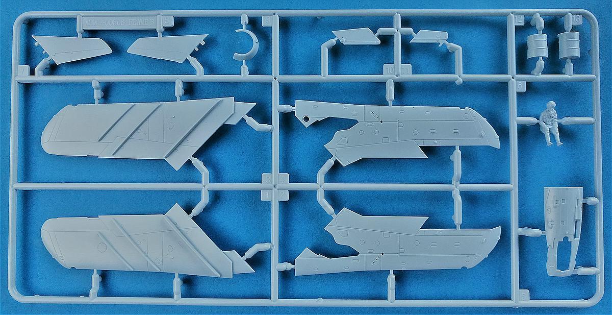Airfix-A03091-MiG-17-6 MiG-17 Fresco in 1:72 von Airfix # A 03091
