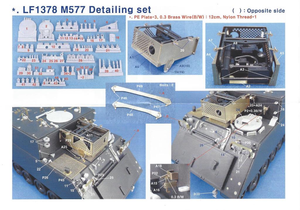 Anleitung1 M577 Detailing Set Legend 1:35 (#LF1378)