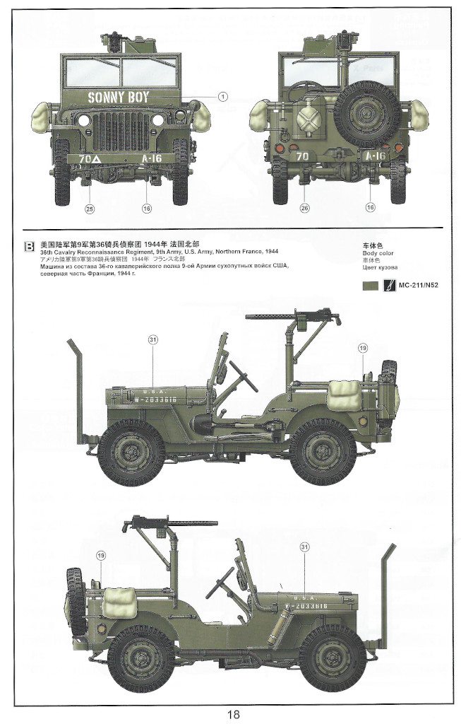 Anleitung19 MB Military Vehicle 1:35 Meng (#VS-011)