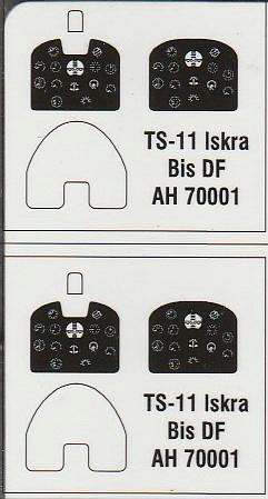 """Arma-Hobby-70001-TS-11-Iskra-DeLuxe-27 TS-11 bis DF """"Iskra"""" von Arma Hobby Deluxe-Set in 1:72 #70001"""