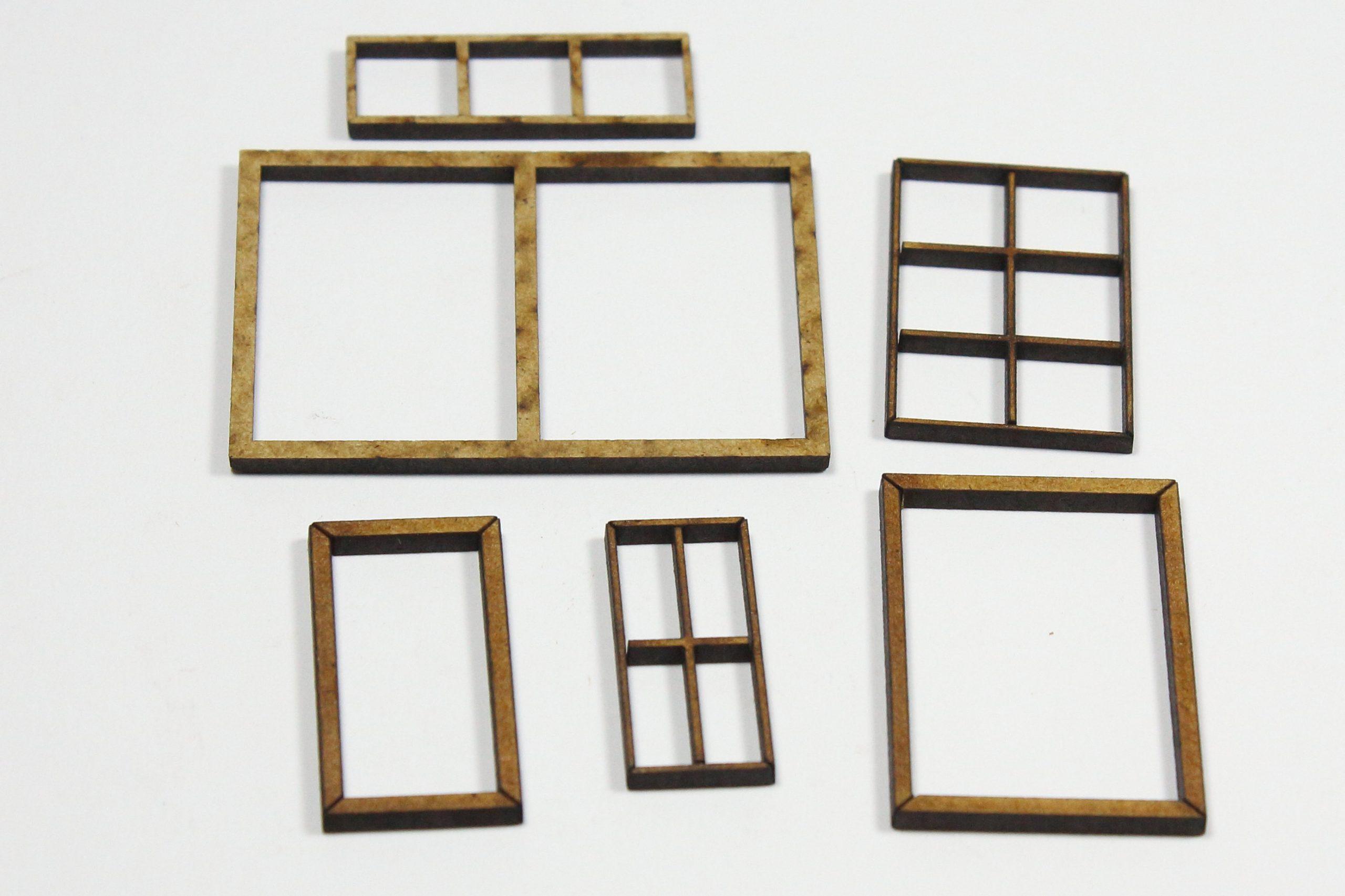 Bild-10-scaled Fachwerkhaus mit Holzschuppen - Lasercut Modellbaushop 1:35