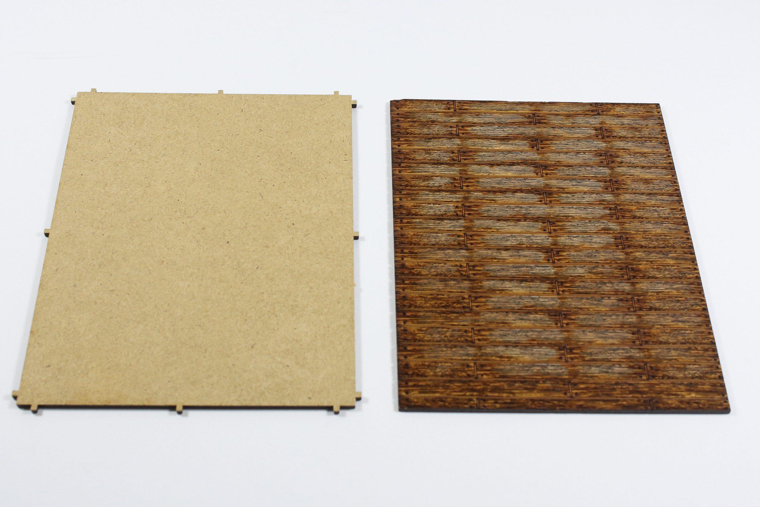 Bild-3-scaled Fachwerkhaus mit Holzschuppen - Lasercut Modellbaushop 1:35