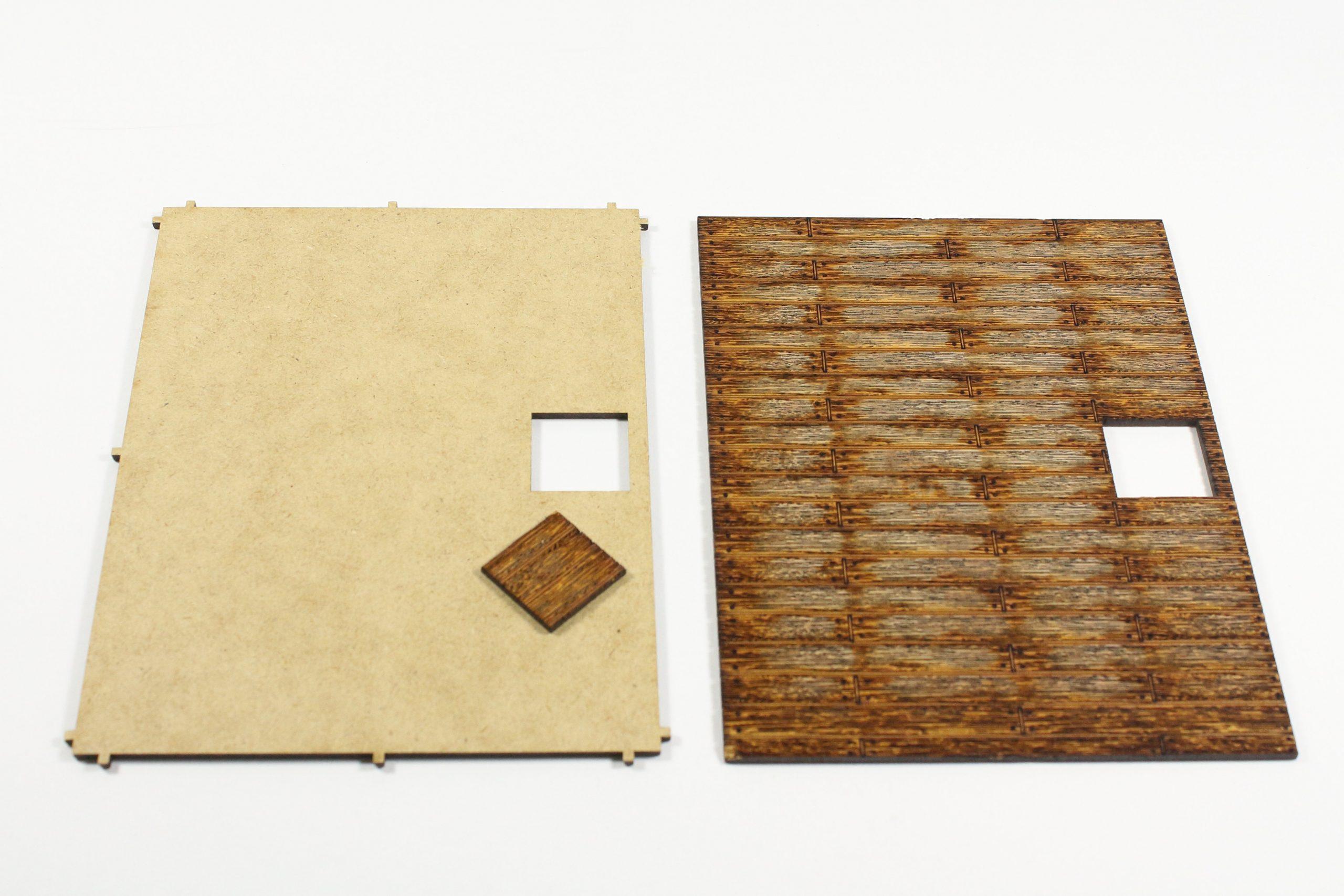 Bild-5-scaled Fachwerkhaus mit Holzschuppen - Lasercut Modellbaushop 1:35