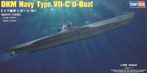 DKM Navy Type VII-C U-Boat Hobby Boss 1:350 (#83505)