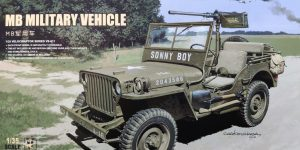 MB Military Vehicle 1:35 Meng (#VS-011)
