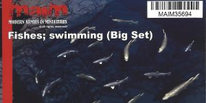Fishes swimming (Big Set) 1:35 MAIM (#MAIM35694)
