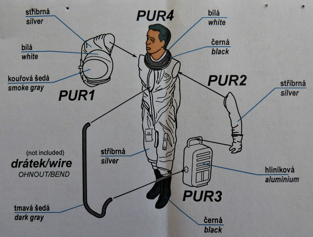 CMK-F-48363-US-Pilot-with-full-pressure-suit-10 CMK US Pilot with full pressure suit in 1:48 # F48363